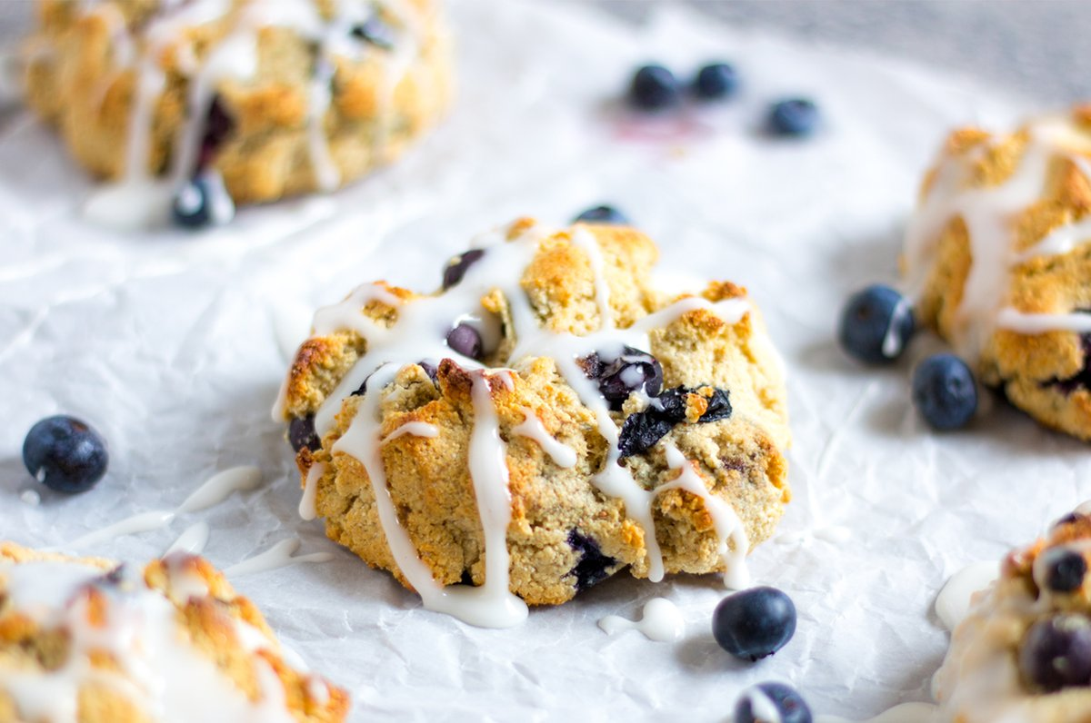 recipeblueberryscones